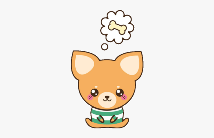 Puppy Perro Chihuahua Cute Cute Dog Cartoon Png Free Transparent Clipart Clipartkey