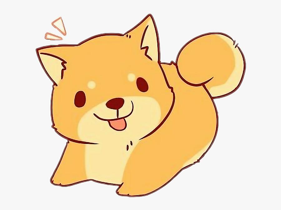 Transparent Kawaii Dog Clipart - Kawaii Cute Dog Cartoon ...