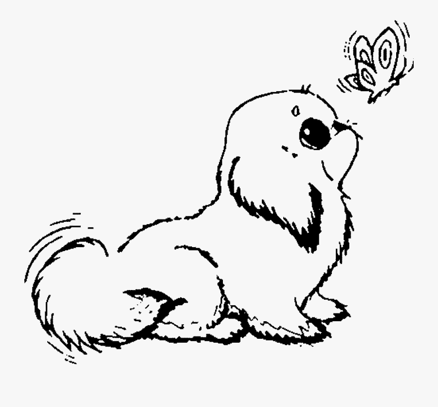 Promising Coloring Pages Puppies Puppy Clipart - Cute Dog ...