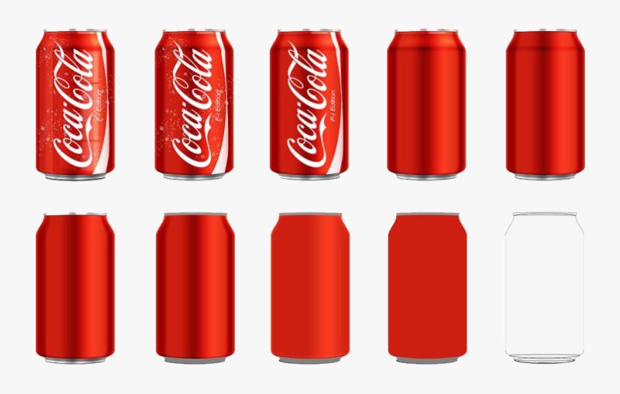 Coca Cola Can Png Image - Coca Cola Can Vector, Transparent Clipart