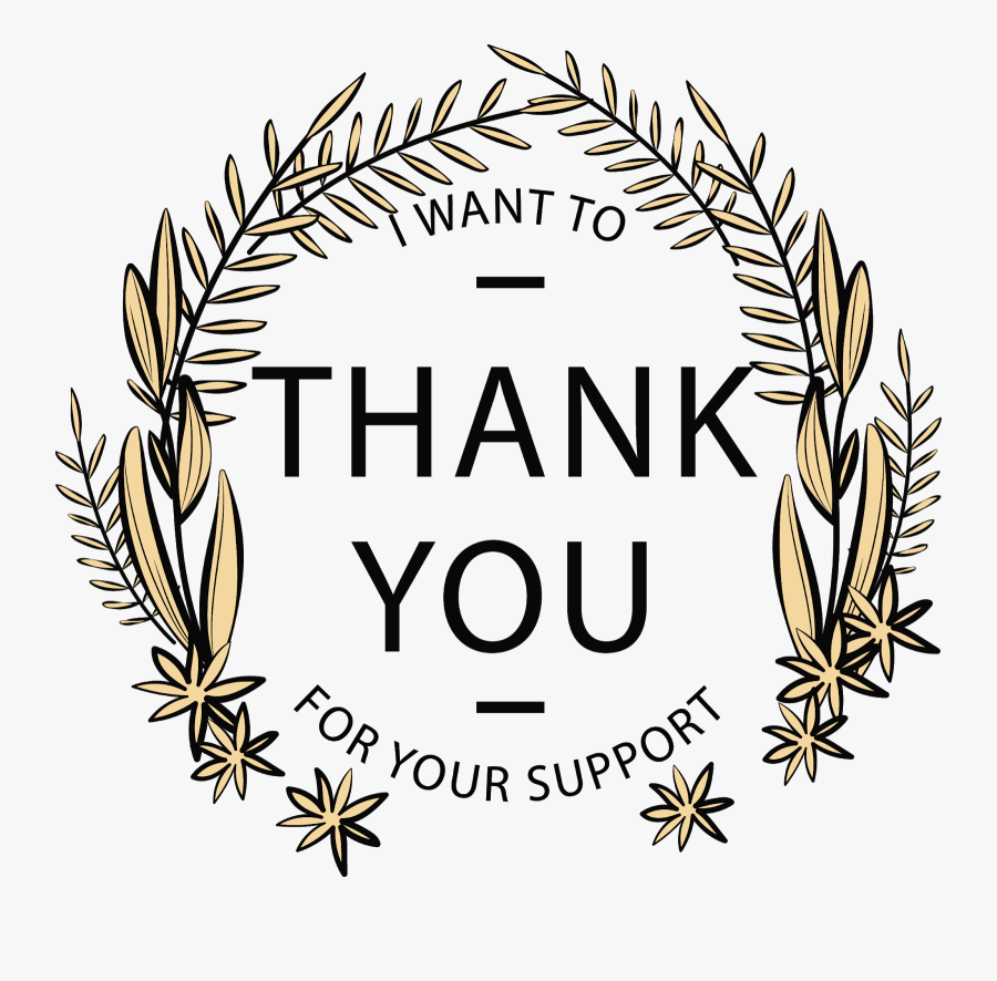 Love Thank You For Watch, Transparent Clipart