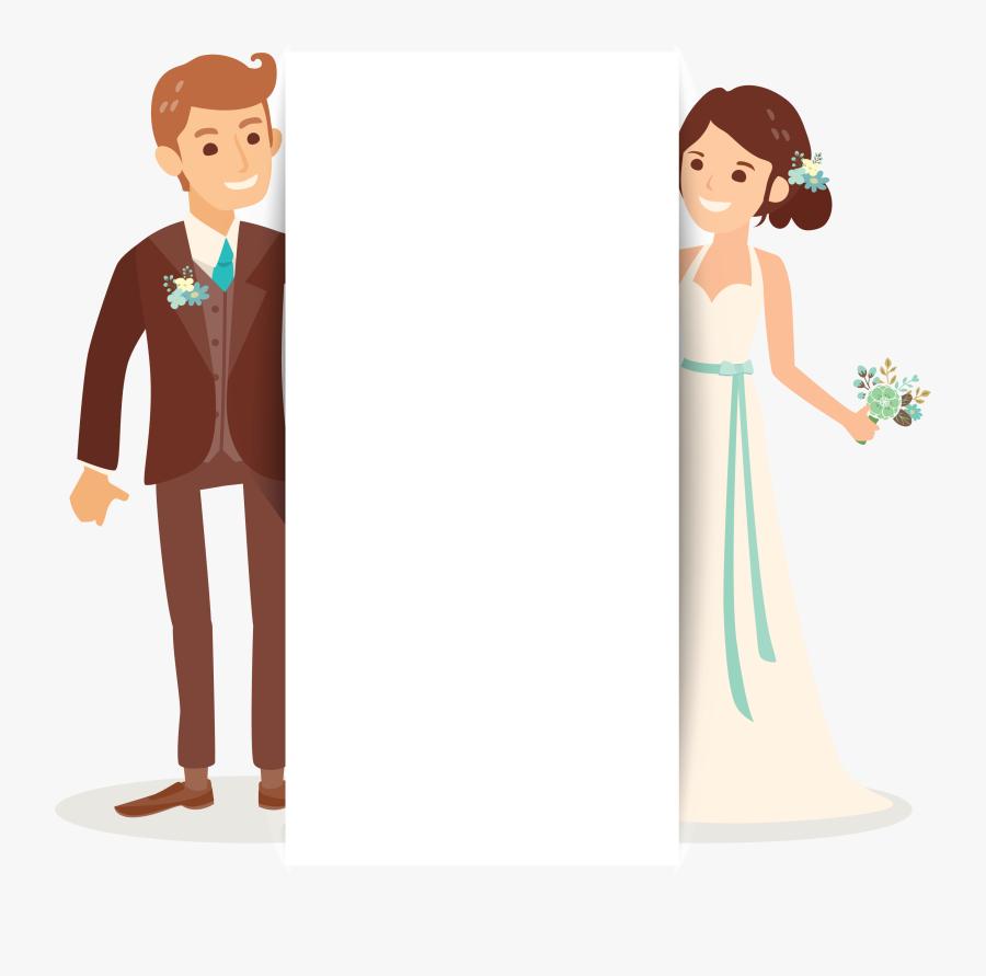 Transparent Wedding Dress Clipart Png - Wedding Invitation Clipart Wedding Png, Transparent Clipart
