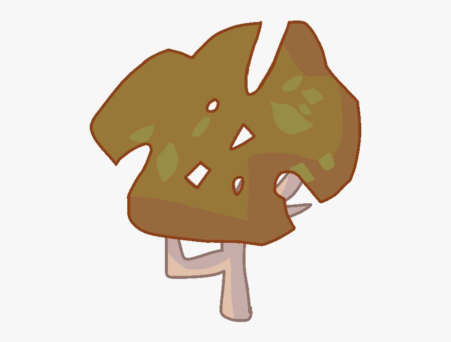 Tree Asset Bfdi , Png Download - Bfdi Autumn Tree, Transparent Clipart