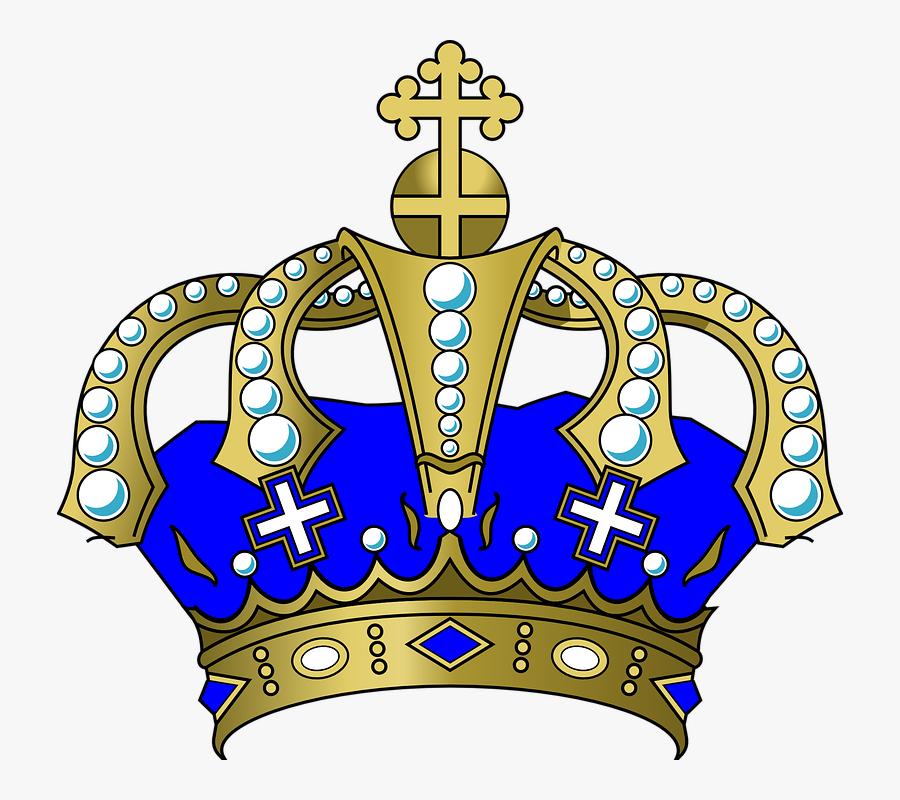 Crown Png Transparent Images Transparent Backgrounds - Blue And Gold Crown Png, Transparent Clipart