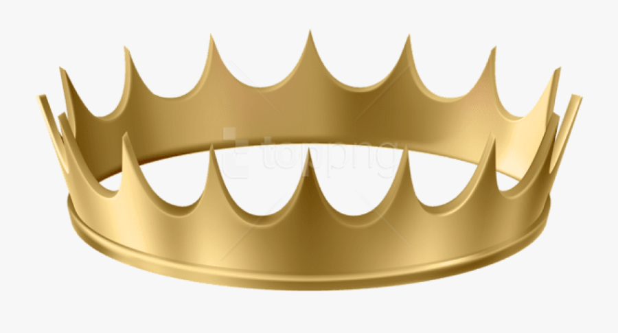 Free Png Download Gold Crown Transparent Clipart Png - Gold Crown Transparent Background, Transparent Clipart