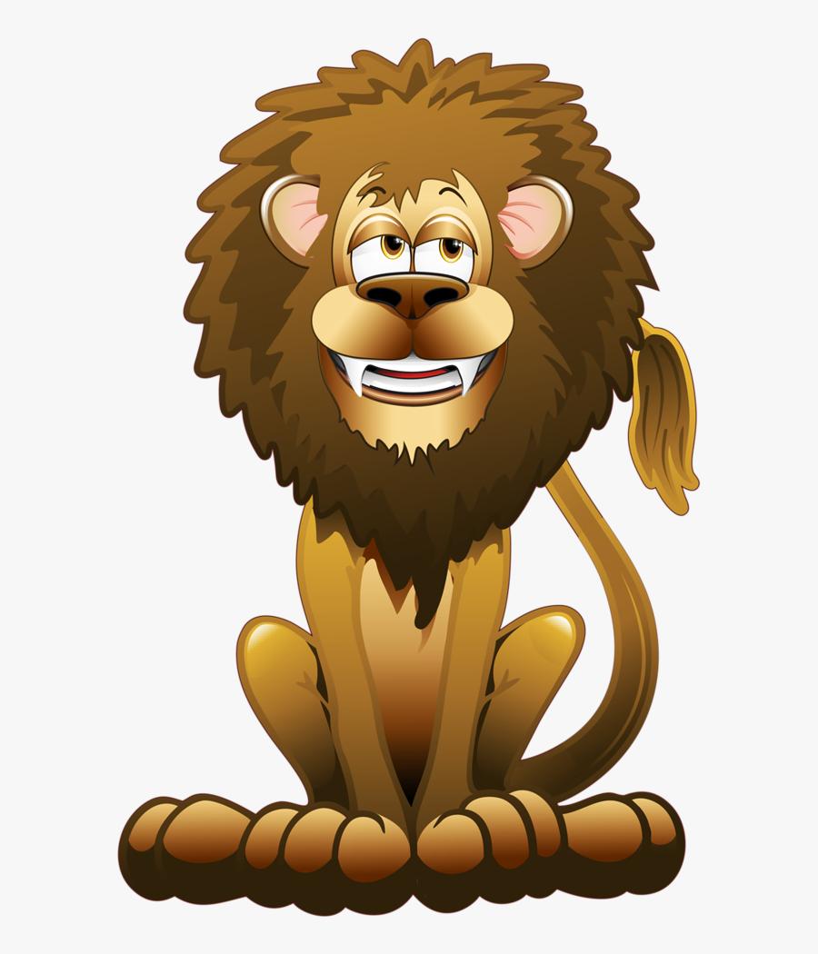 Hungry Lion Cartoon, Transparent Clipart