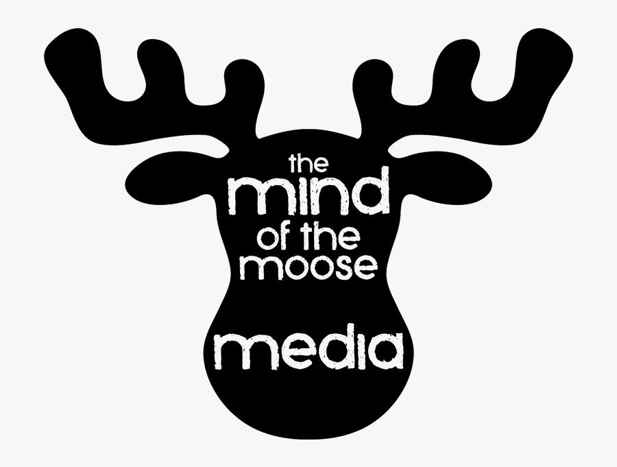 Clip Art Free Moose Images Cartoon - Cartoon Moose Head Silhouette, Transparent Clipart