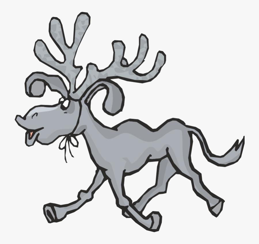 Moose Antlers Clip Art - Moose Antlers, Transparent Clipart
