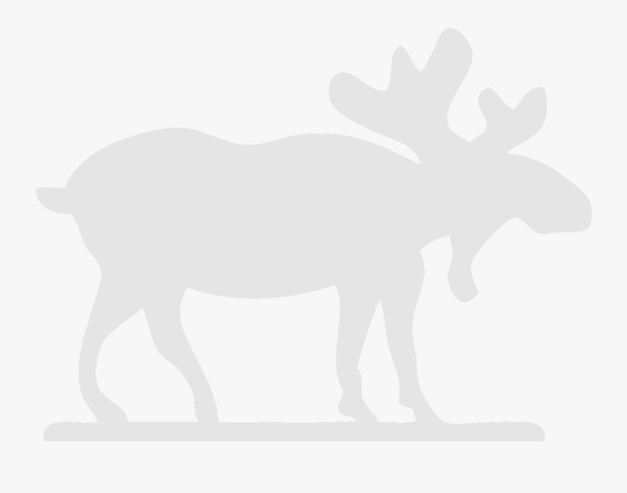 White Moose Clip Art, Transparent Clipart