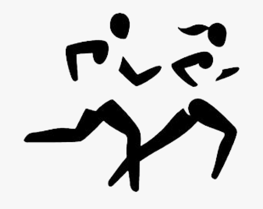 Clip Art Cross Country Runners Clip Art - Clipart Cross Country Runner, Transparent Clipart