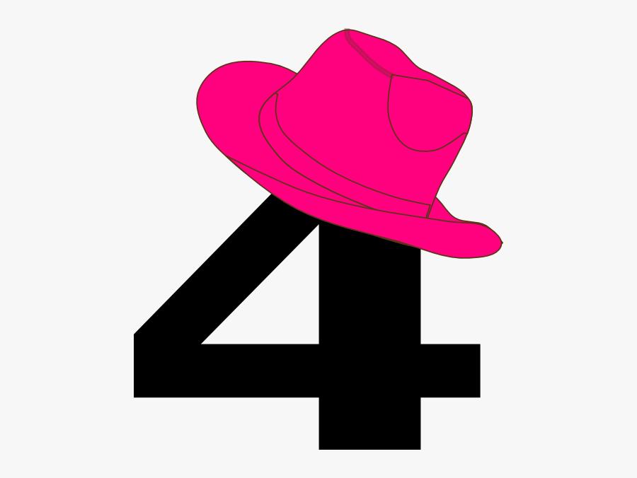 5 With Cowboy Hat Clip Art, Transparent Clipart