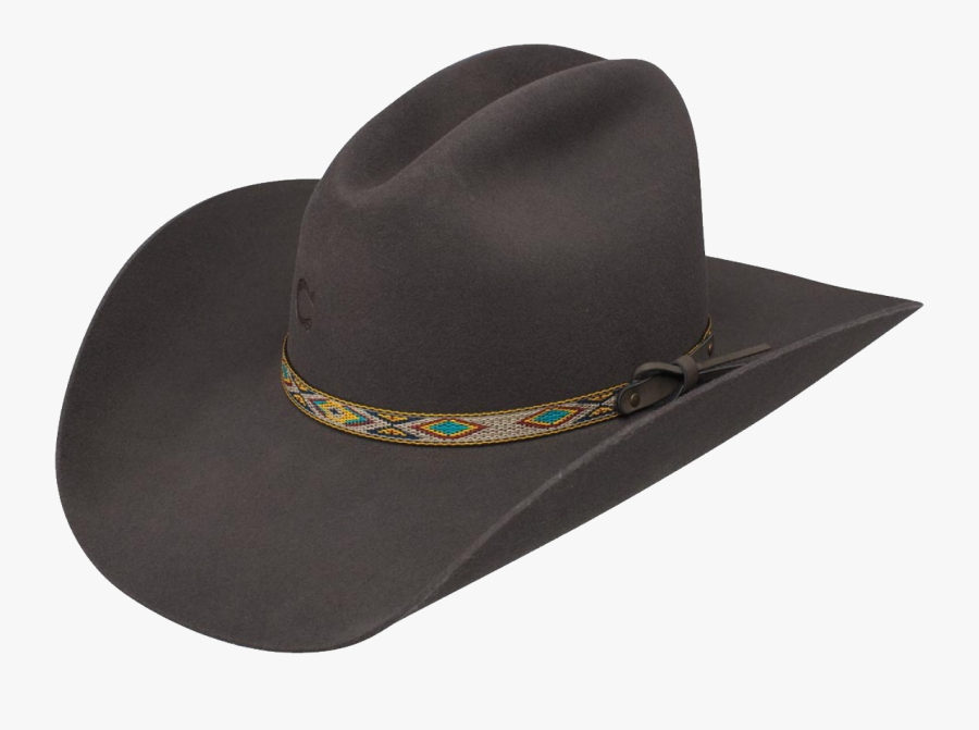 Cattleman Cowboy Hat, Transparent Clipart