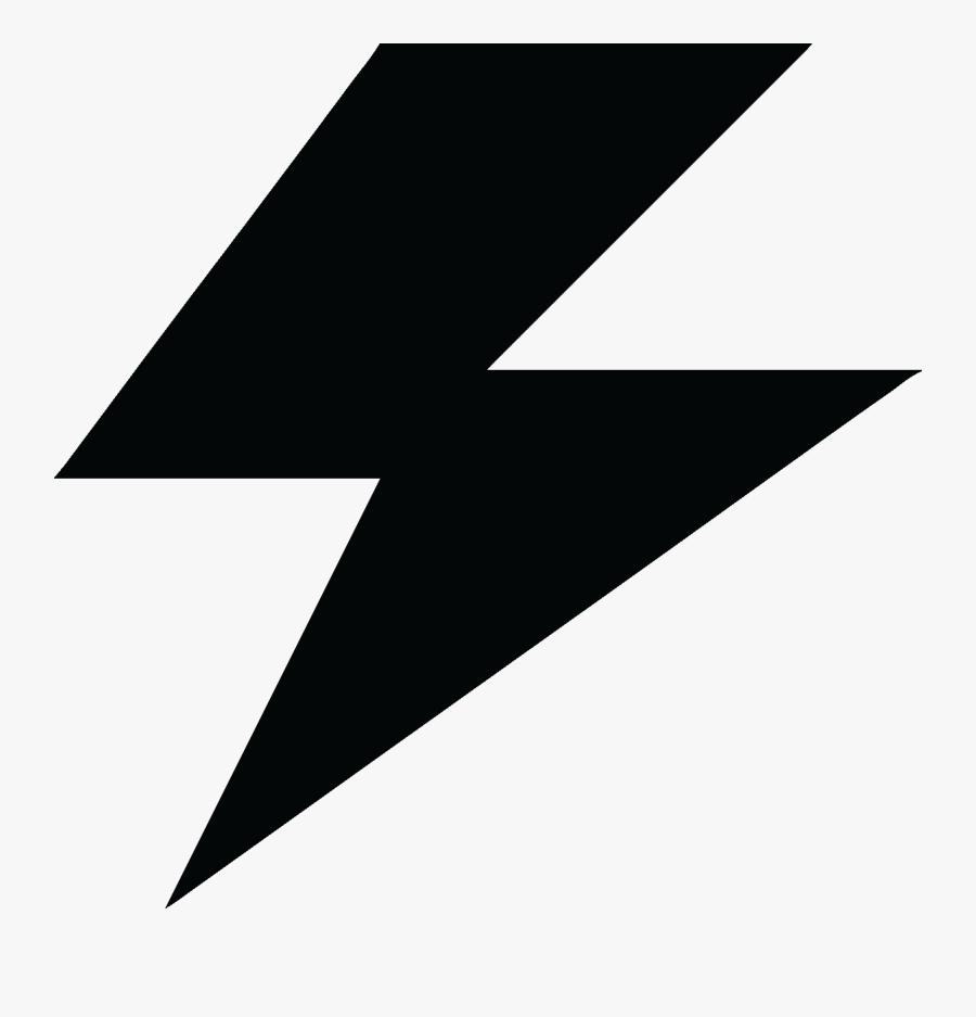 Electrical Clipart Lightning Bolt - Battery Charging Lightning Bolt, Transparent Clipart
