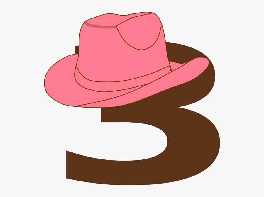 3 Cowboy Hat Clipart, Transparent Clipart