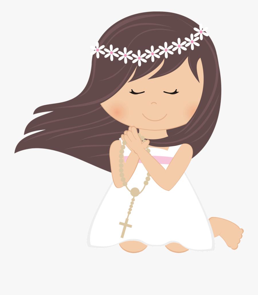Transparent Holy Communion Clipart - Communion Girl Clipart, Transparent Clipart