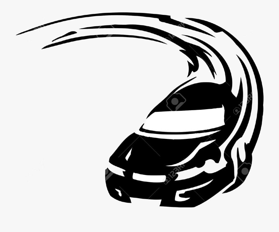 Auto Racing Stock Photography Clip Art - Car Line Art Png, Transparent Clipart