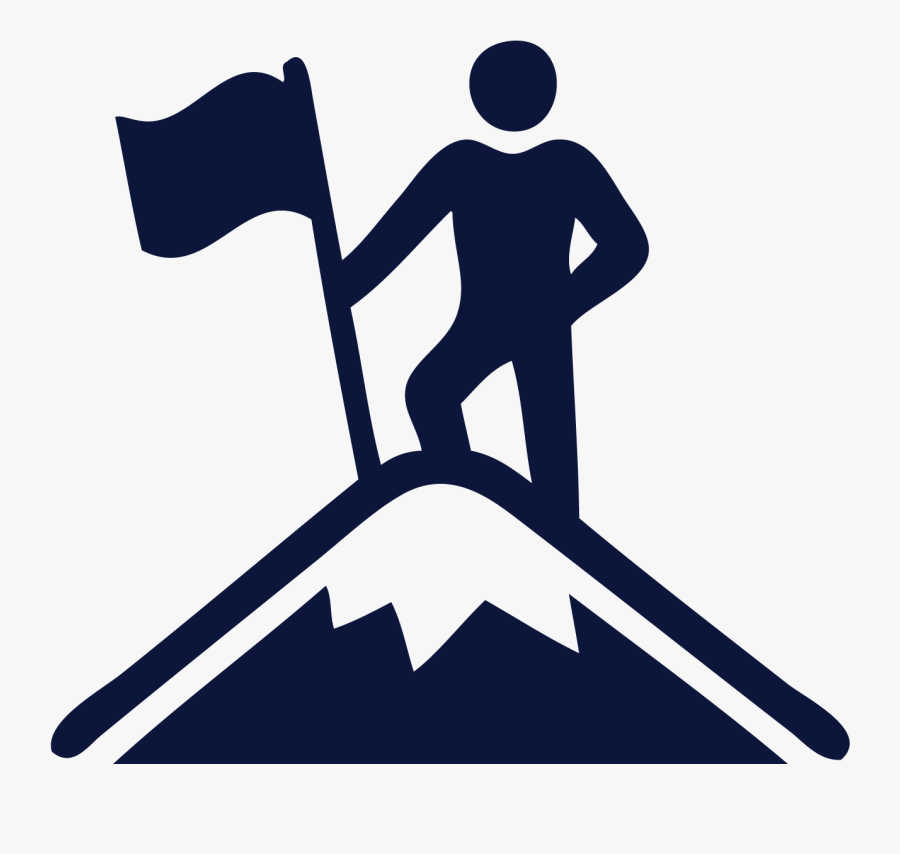 Business Launch Boot Camp Aurora - Mountain Climber Icon, Transparent Clipart