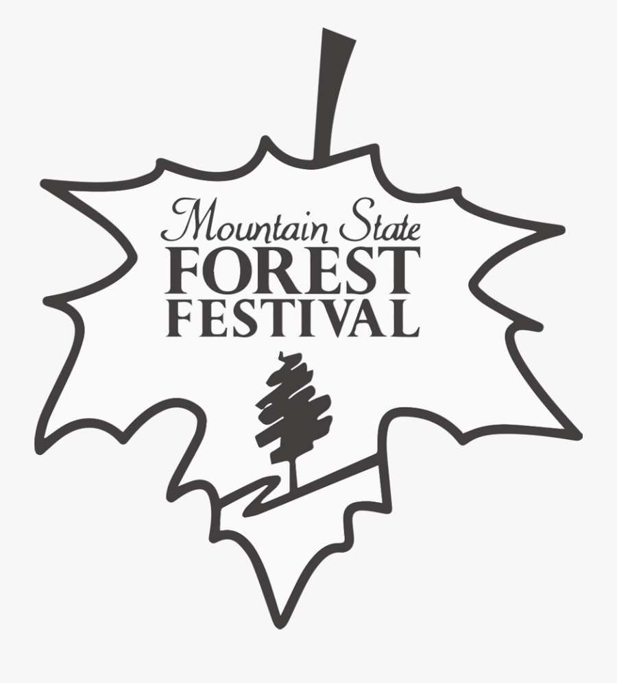 Mountain State Forest Festival, Transparent Clipart
