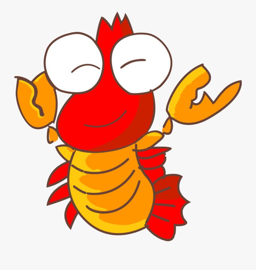 Clip Art Palinurus Procambarus Clarkii Crayfish - กุ้ง น่า รัก การ์ตูน, Transparent Clipart