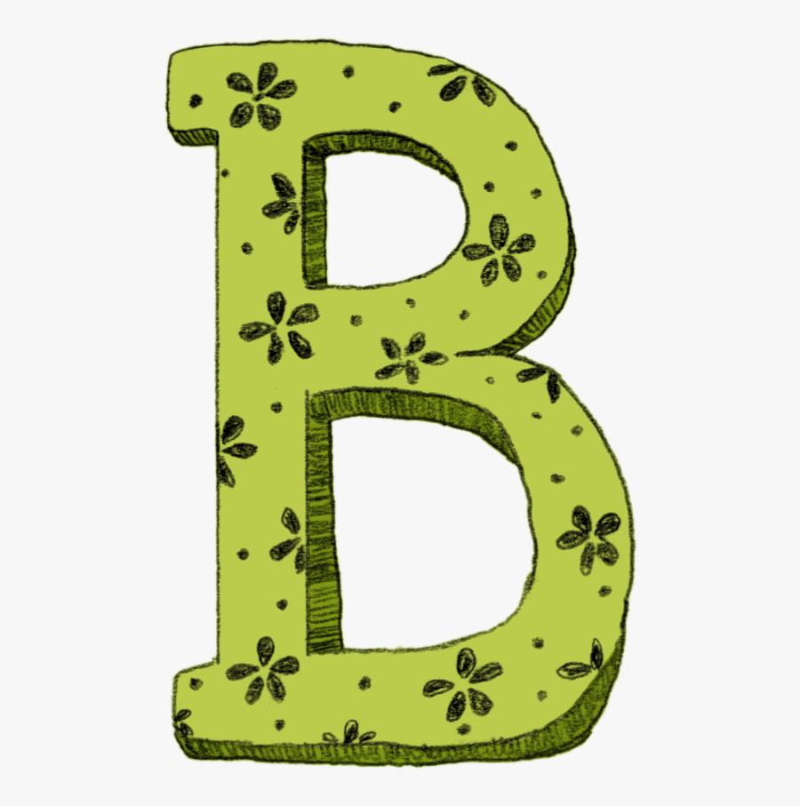 Free Download Clip Art - Letter B Colored Png, Transparent Clipart