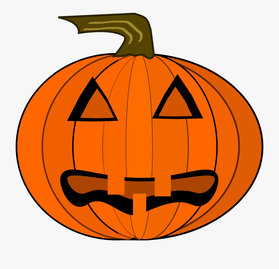 Clipart Jack O Lantern - Halloween Vintage Pumpkin Png, Transparent Clipart