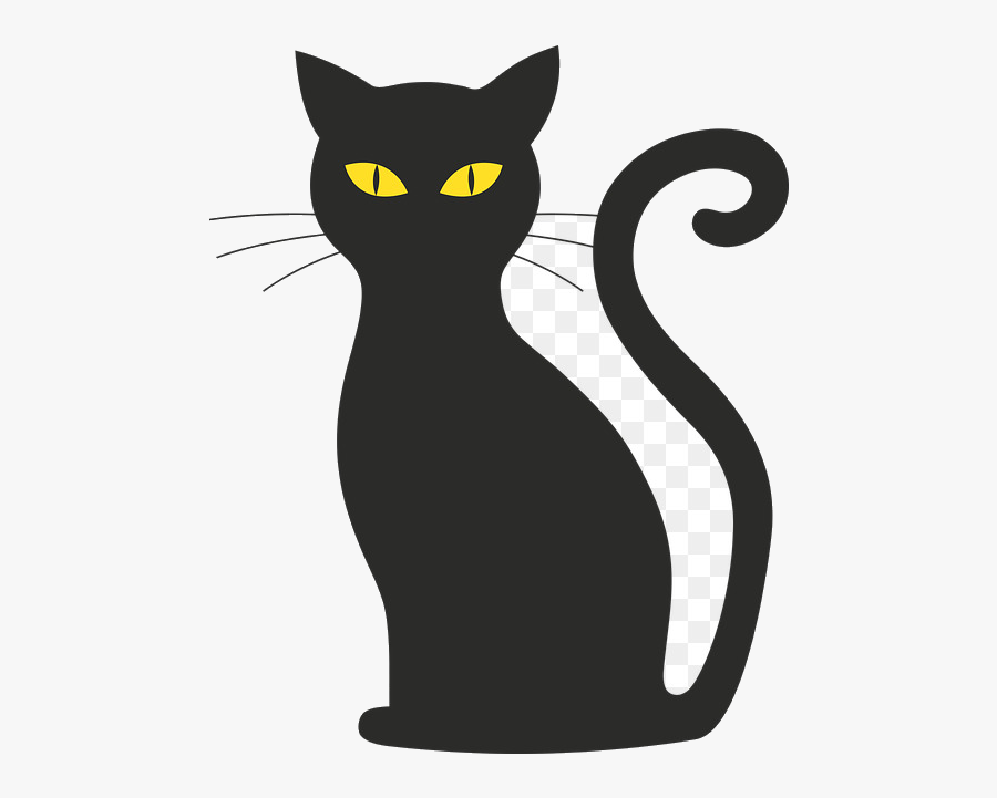 Download Black Cat Silhouette Clip Art Image Free Transparent ...