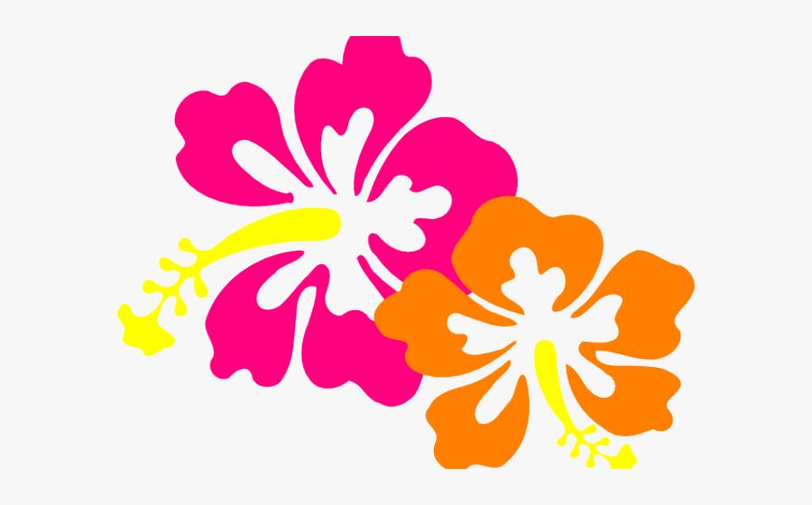 Transparent Hawaiian Png - Hibiscus Clip Art, Transparent Clipart