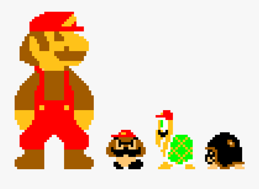 transparent mario characters png