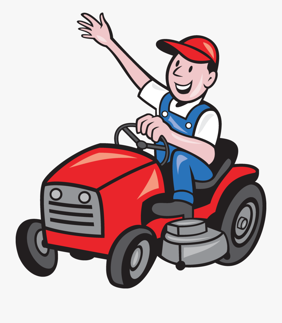 Ride On Mower Clipart, Transparent Clipart