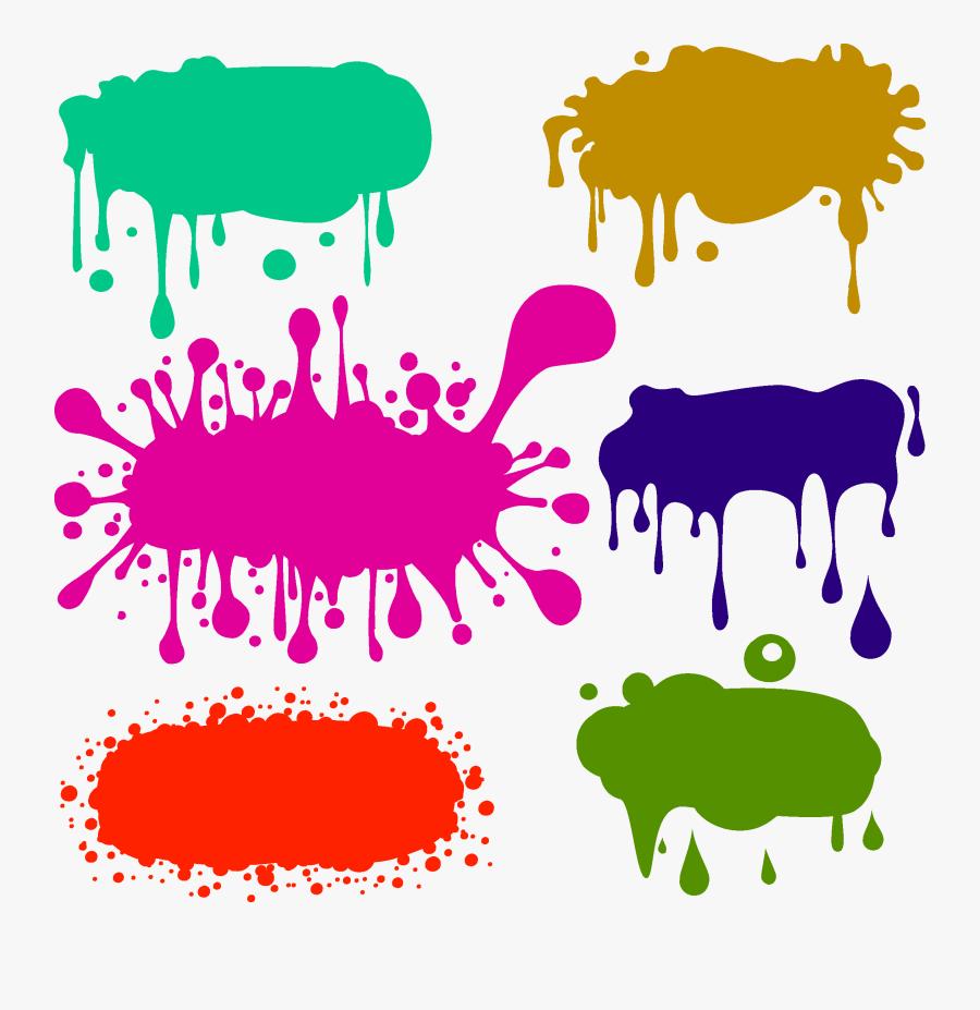 Transparent Paint Splat Png - Graffiti Color Png, Transparent Clipart