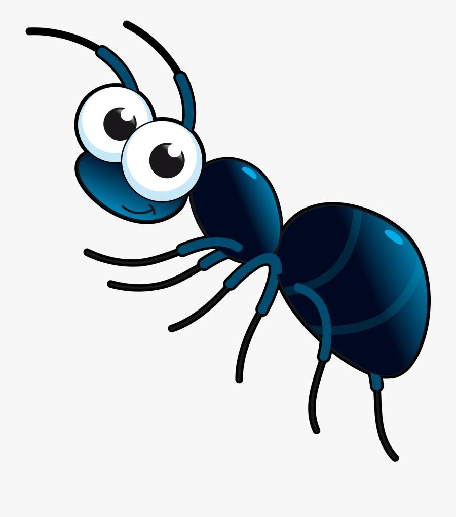 Download Cute Vector Cartoon - Cartoon Transparent Ant Png, Transparent Clipart