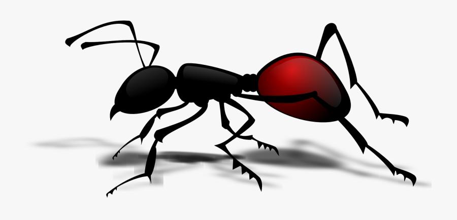 Vector Ant Cartoon Clip Art - Ant Clipart Png, Transparent Clipart