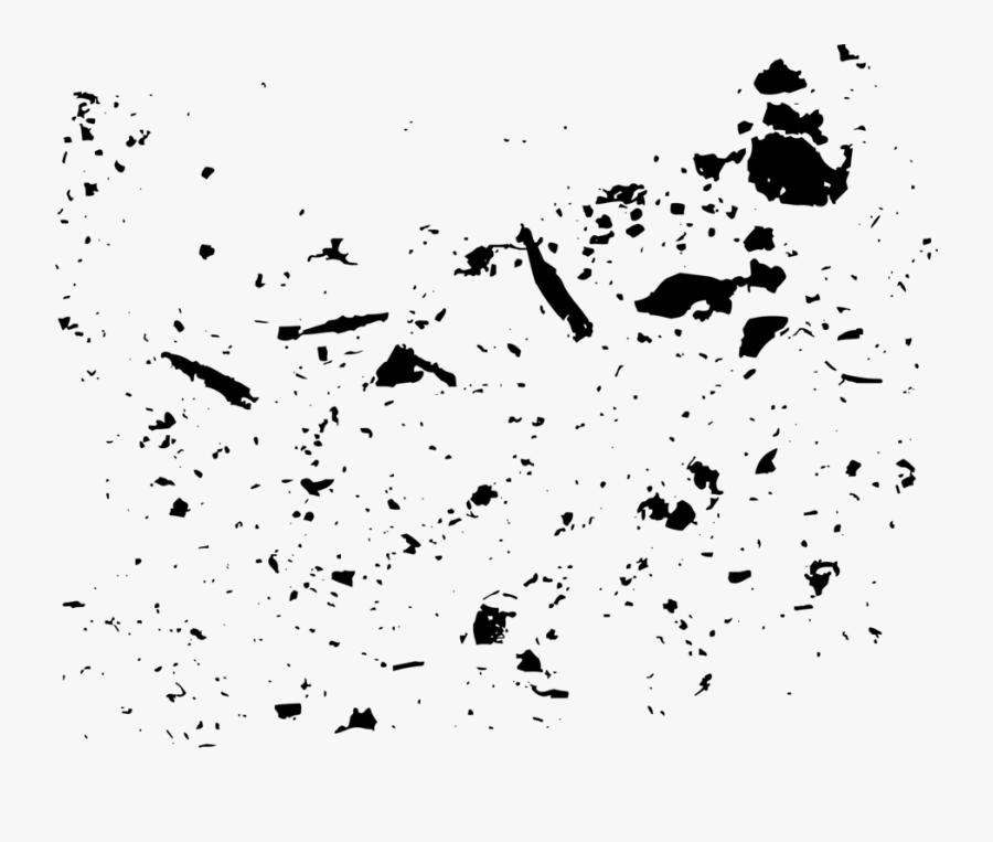Visual Arts,monochrome Photography,text - Black Paint Splatter Png, Transparent Clipart