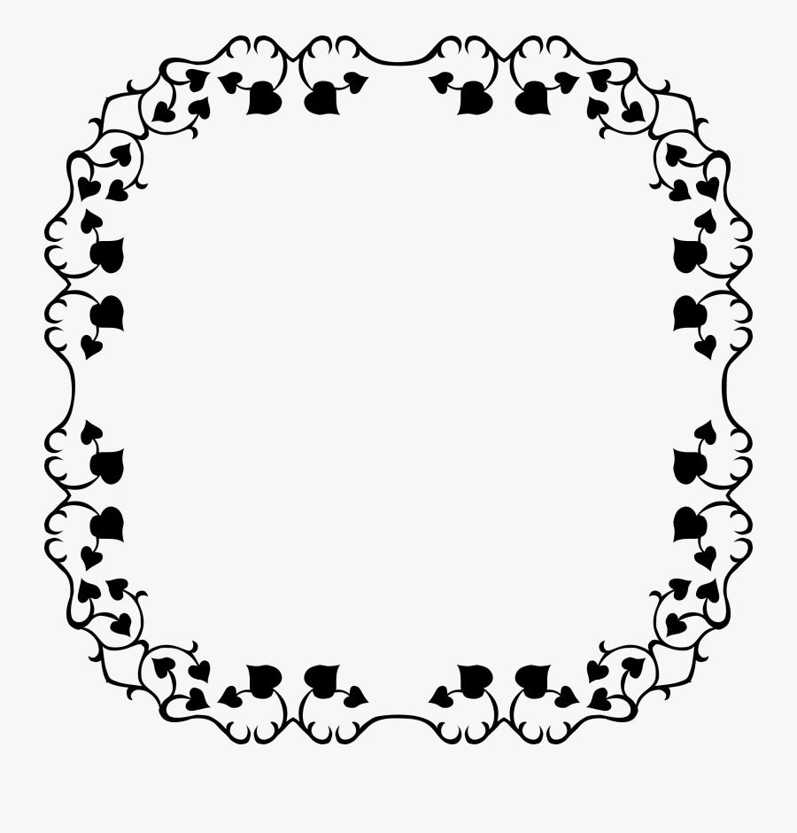 Ant Border Square - Border Square Design, Transparent Clipart