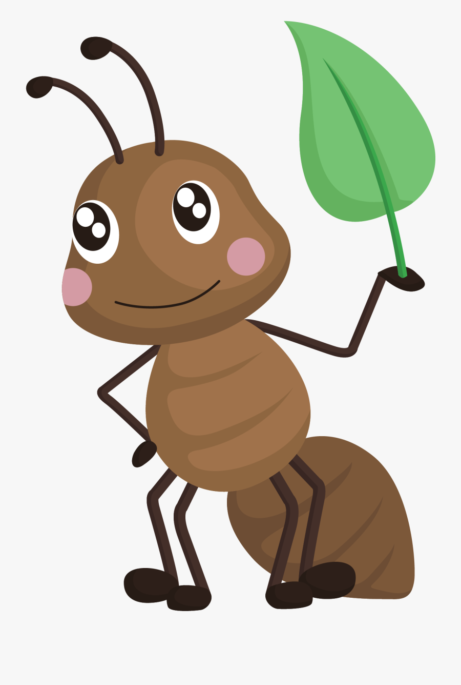 Ants Clipart Brown Ant - Alphabet Ant, Transparent Clipart