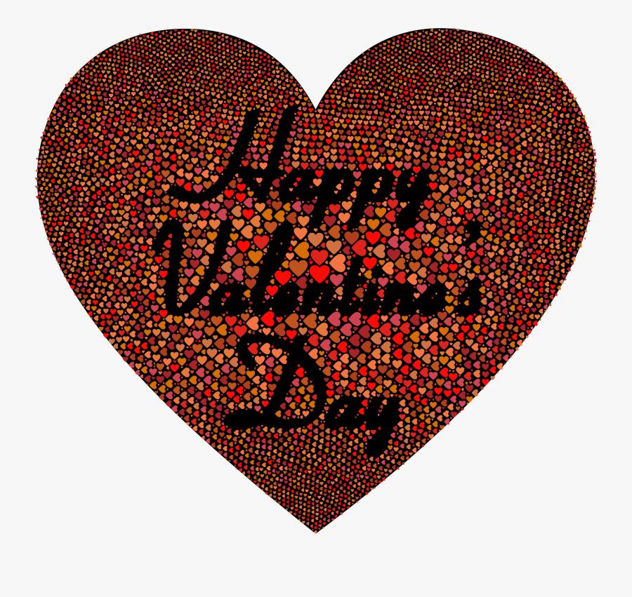 Happy Valentines Day Clip Arts - Happy Valentine Day 2, Transparent Clipart