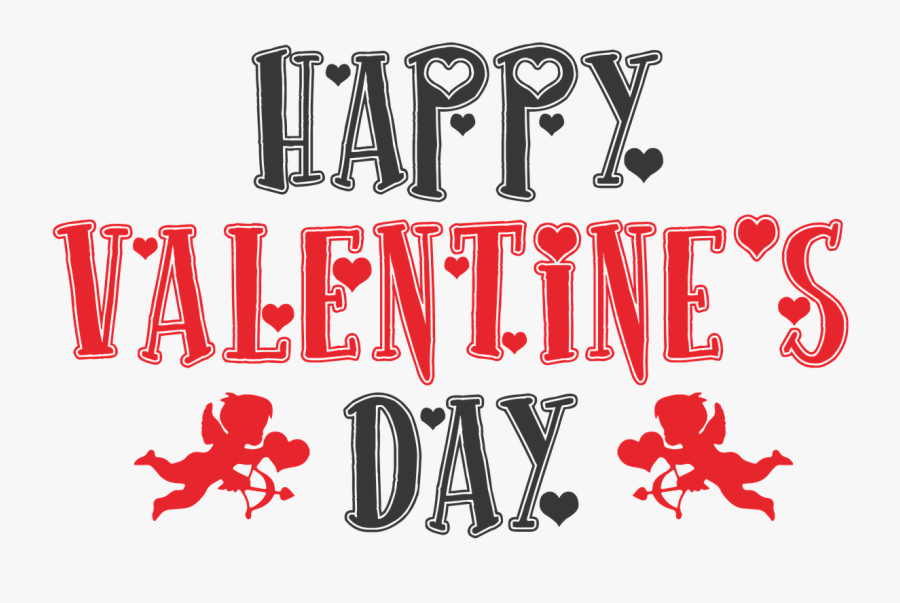 Download Happy Valentines Day Png Transparent Images - Happy Valentines Day Logo Valentine, Transparent Clipart