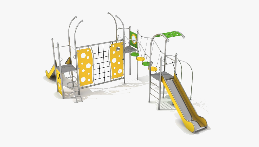 Kids Playing Clipart School Playground Equipment - Playground Slide, Transparent Clipart