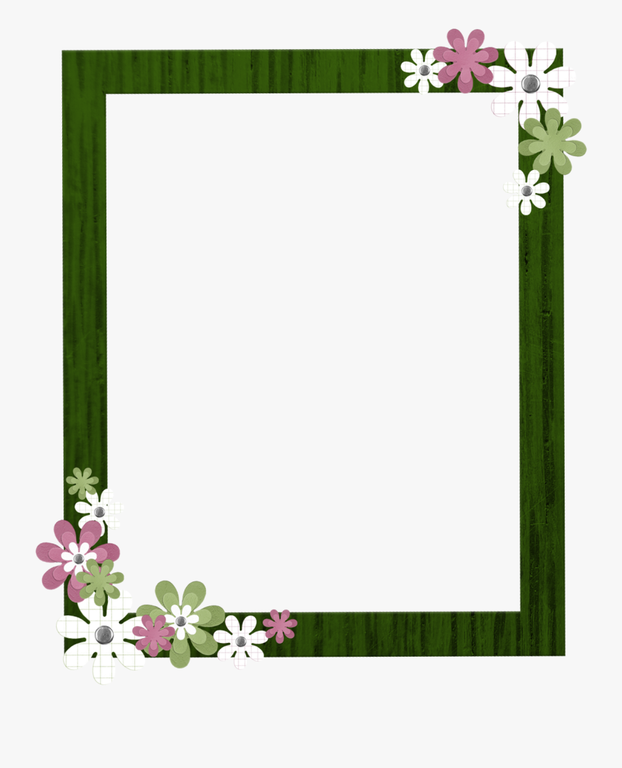 Green Border Frame Clipart - Pink Borders And Frames, Transparent Clipart