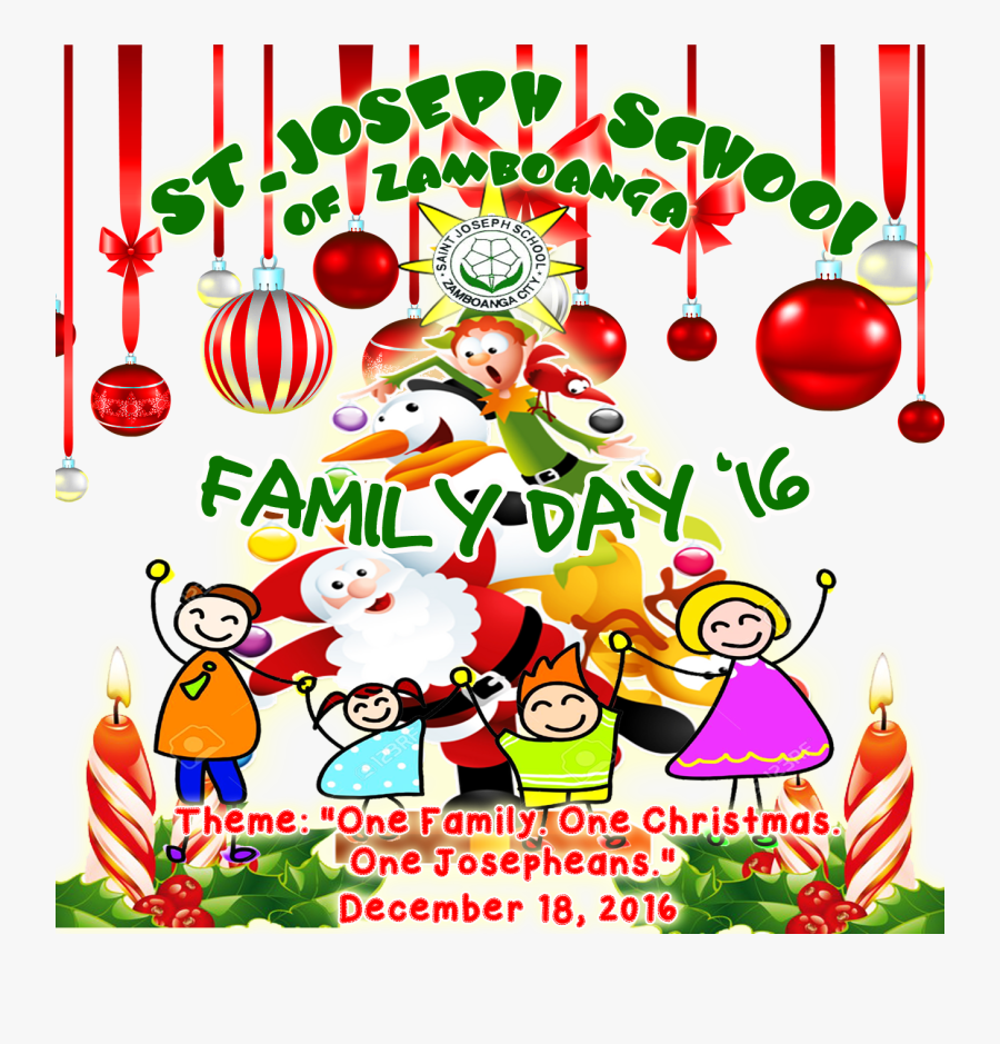 Excited For Our On - School Family Day Theme, Transparent Clipart
