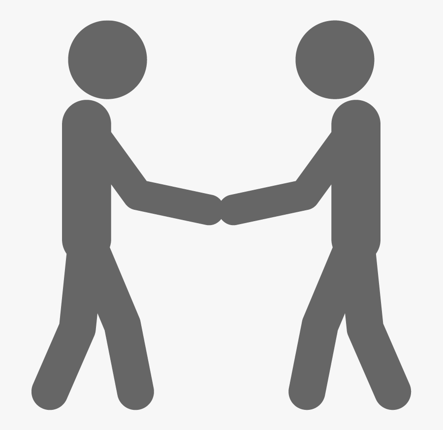 Royalty-free Stick Figure Holding Hands Drawing - Stick Men Holding Hands, Transparent Clipart
