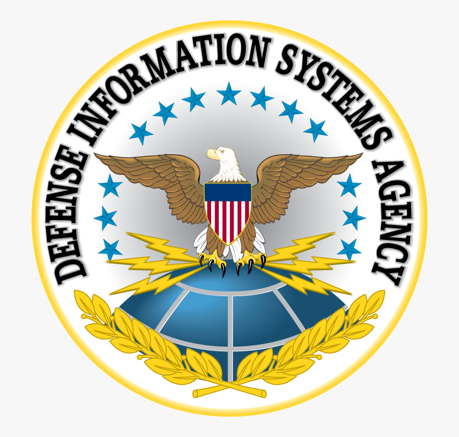 Defense Information Systems Agency Logo, Transparent Clipart