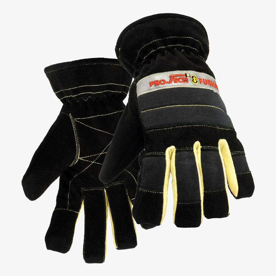 Gloves Clipart Firefighter - Pro Tech 8 Fusion, Transparent Clipart