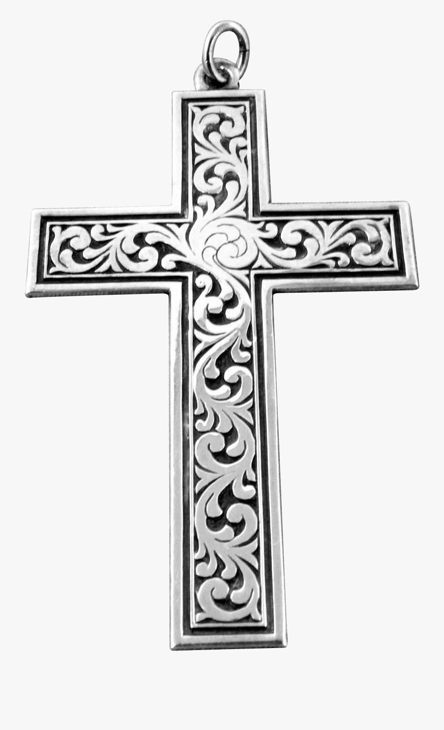crucifix vector tribal cross - cross , free transparent clipart - clipartkey  clipartkey