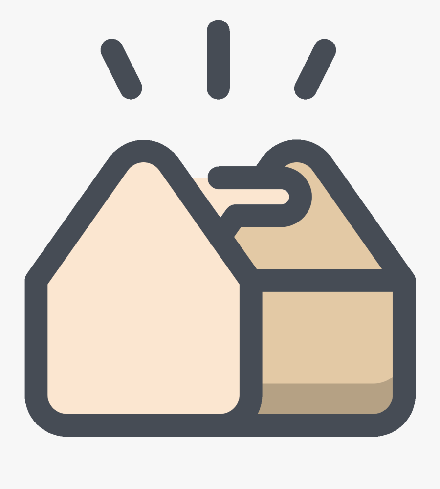 Full Tool Storage Box Icon - Box Building Icon, Transparent Clipart