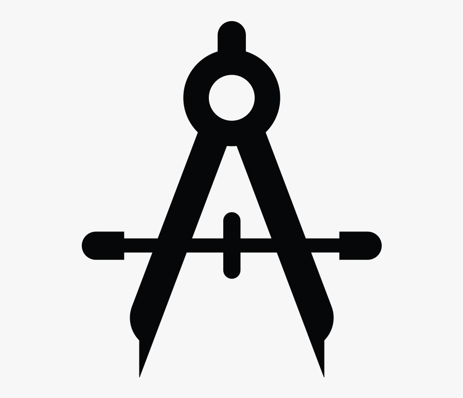 Product Design Icon Png - Drafting Compass Icon, Transparent Clipart