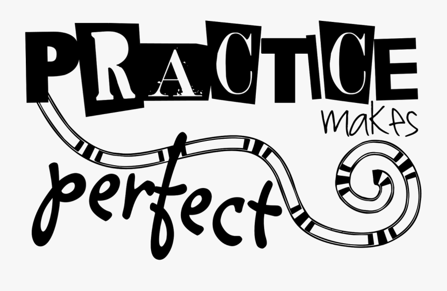 Clip Art Practice Makes Perfect - Practice Makes Perfect Clipart, Transparent Clipart