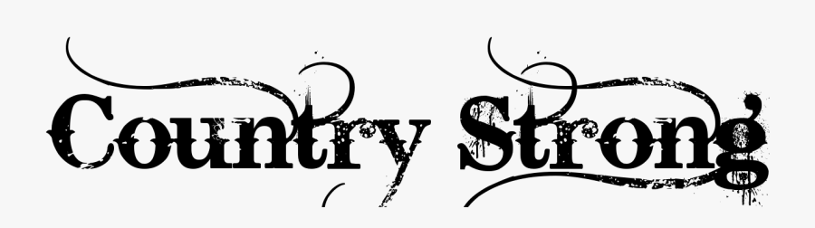 Country Strong Tattoo, Transparent Clipart