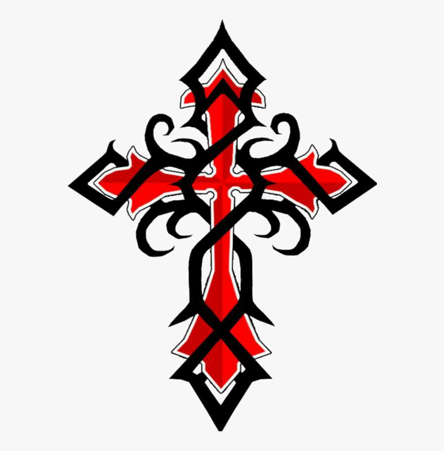 #tribal #cross #tatuagem #tattoo @lucianoballack - Tribal Cross Tattoo Designs, Transparent Clipart