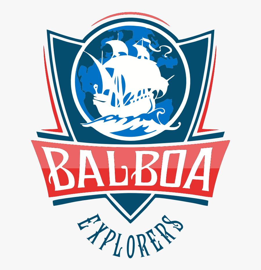 Balboa Middle School Logo, Transparent Clipart